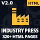 Industrypress - Factory & Industrial Business HTML5 Template
