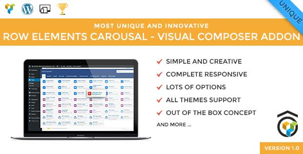 Download Row Elements Carousel Addon for Visual Composer nulled download