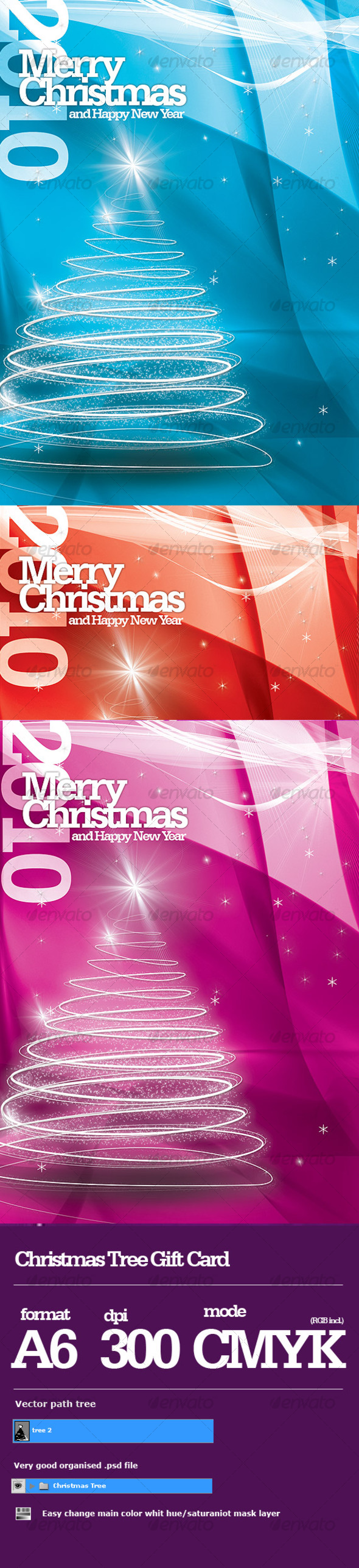 GraphicRiver Chistmas Card #1 68881