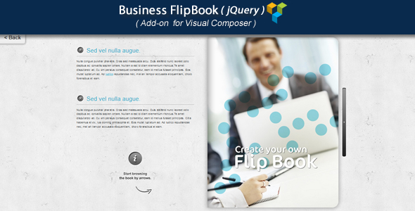 Download Visual Composer Add-on - Business jQuery FlipBook nulled download