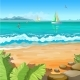 Marine Tropical Landscape