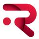 Rotative R Letter Logo