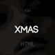Merry Christmas - Illustrated/Animated LESS Theme