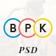 BPK Shop - Ecommerce PSD tempate