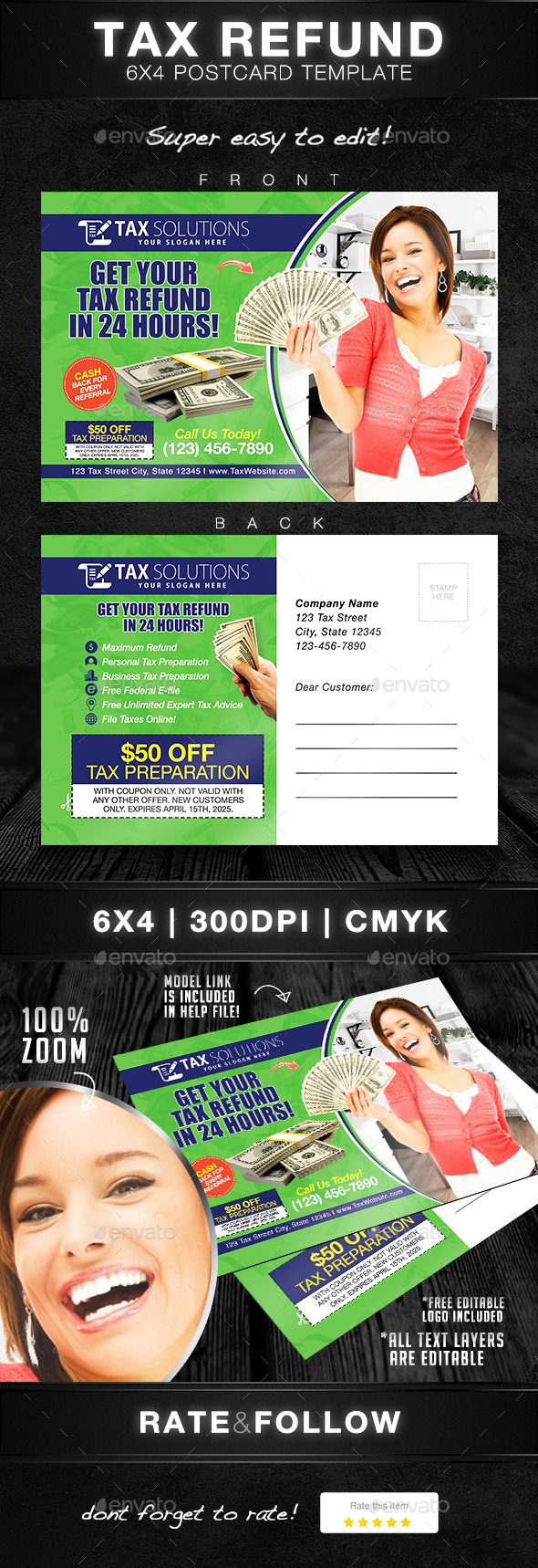 Income Tax Graphics, Designs & Templates from GraphicRiver