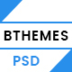 BTHEME – Multipurpose PSD Template (Corporate) Download