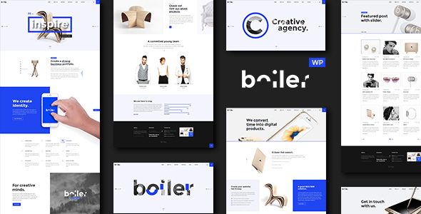 Boiler - Creative Agency & Business WordPress Theme
