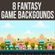 8 Fantasy Backgrounds