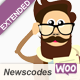 Newscodes - WooCommerce Products Extension