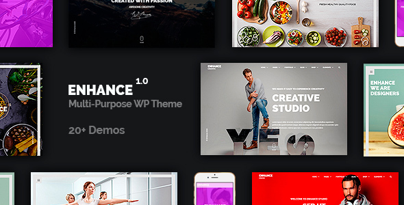 Enhance - Multi-Purpose Onepage & Multipage Theme