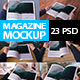 Magazine Mockups Huge Pack