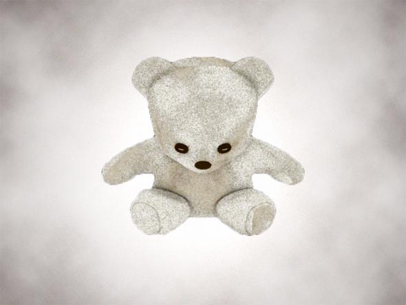 3DOcean Simple Teddy Bear 218565