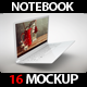Laptop NoteBook 9 Mock Up