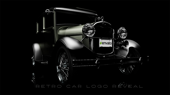 Download Retro Car Logo Reveal nulled download