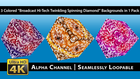 Download Broadcast Hi-Tech Twinkling Spinning Diamond - Pack 01 nulled download