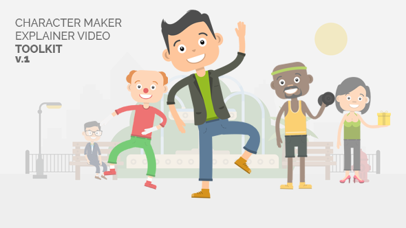 Character Maker - Explainer Video Toolkit (Commercials)
