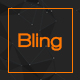 Bling - PSD App Landing Page