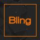 Bling - PSD App Landing Page