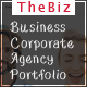 "TheBiz - One Page and Multipage Business<hr/><p> Corporate</p><hr/><p> Agency & Portfolio Template"" height=""80″ width=""80″></a></div><div class="