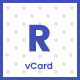Resme - Responsive Personal Portfolio / Resume / CV / vCard Template