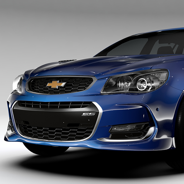 Chevrolet SS 2017 Tourer - 3DOcean Item for Sale