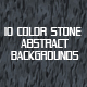 10 Stone Color Abstract BG