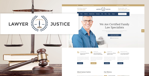 Download Lawyer Justice - Law Firm Joomla Template
