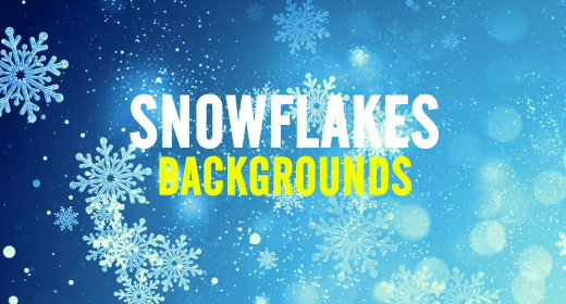 Snow Flakes Backgrounds