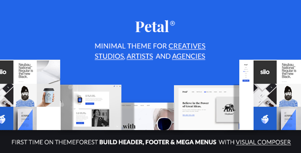 Petal - Creative Portfolio for Freelancer and Agency
