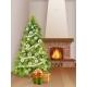 Interior Fireplace Christmas Tree Gift Box