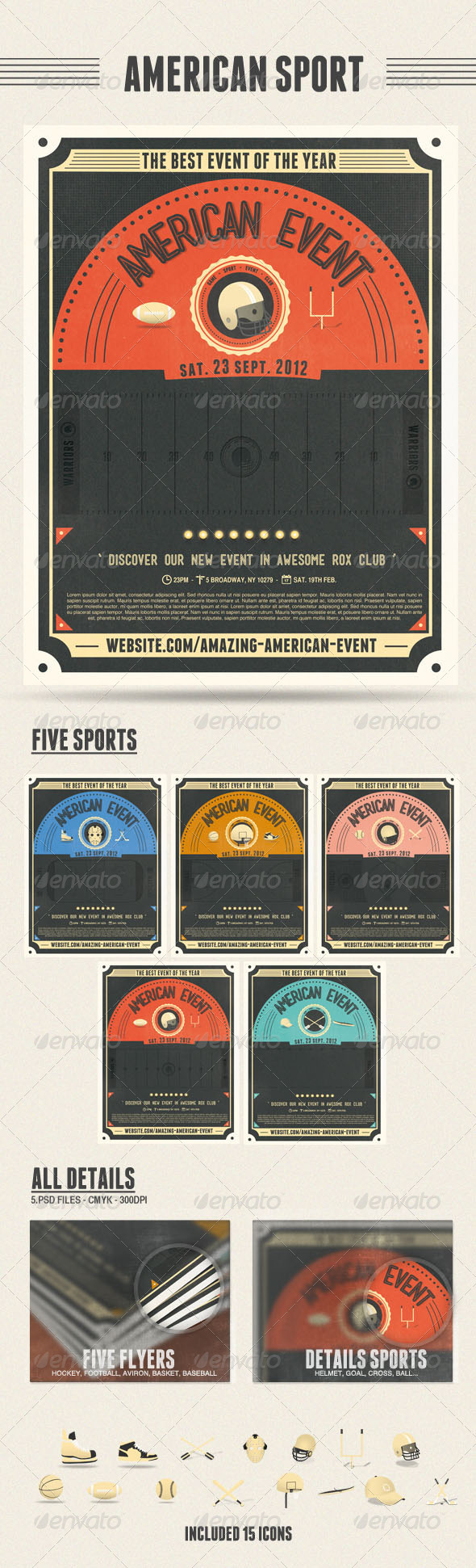 American Sport Flyers - Sports Events