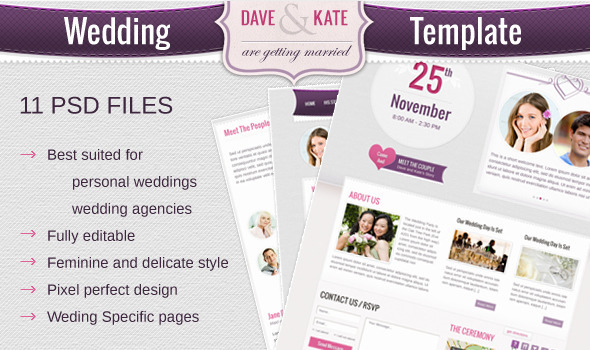 ThemeForest Wedding Day 1854558