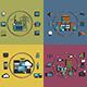 Industry Infographic Scenes