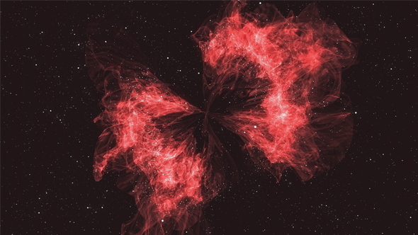 Download Beautiful Red Space Nebula nulled download
