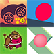 4 Amazing BuildBox Game Templates (Bundle 2): Android; Easy Reskin; AdMob & Chartboost Ads & IAP