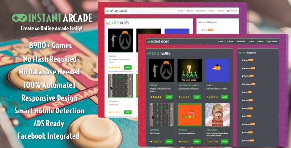 Download Instant Arcade - Create An Online Arcade Easily! nulled download