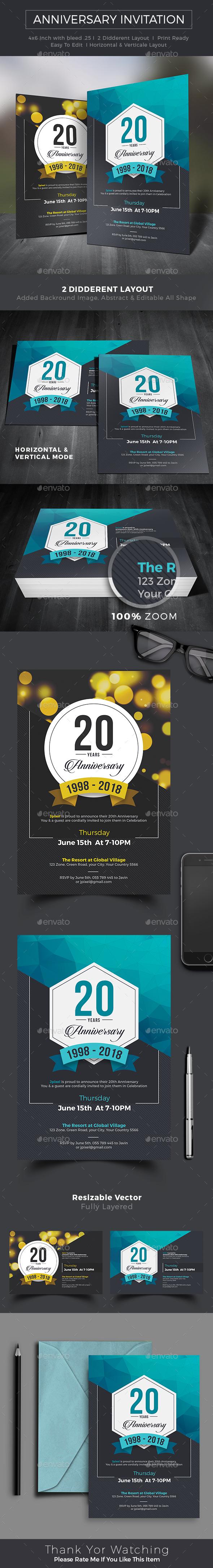 Anniversary Invitation