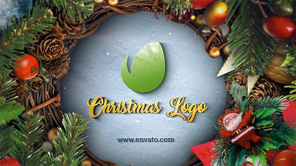 Christmas u0026 New Year Logo