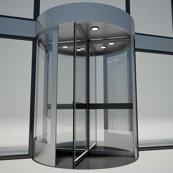 revolving door - 3DOcean Item for Sale