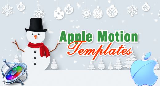 Christmas Apple Motion Templates