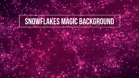 Download Snowflakes Magic Background nulled download