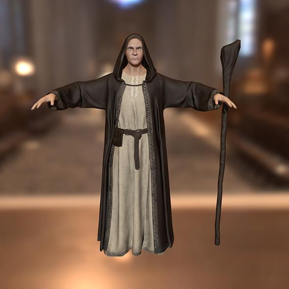 Dark Wizard - 3DOcean Item for Sale