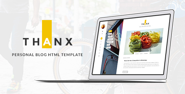 THANX - Personal  HTML Template