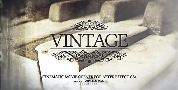 VideoHive Vintage Opener 1823937
