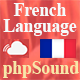 French Language for phpSound - Music Sharing Platform v1.2.9