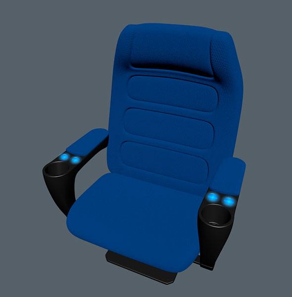 Chair cinema - 3DOcean Item for Sale