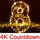 Falling Countdown 4K