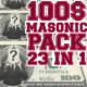 100 Masonic Dollars Pack V2 23 in 1