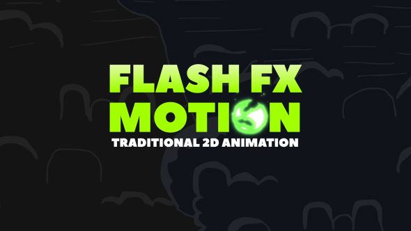 Flash Fx Motion Traditional 2d Animated Elements Abstract After Effects Templates F5 Design