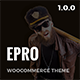 ePro - Multipurpose WooCommerce Theme